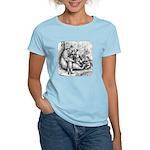 Black Bear Family Women's Light T-Shirt