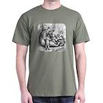 Black Bear Family Dark T-Shirt