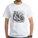 Black Bear Family White T-Shirt