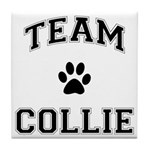 Team Collie Tile Coaster