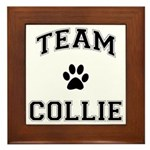 Team Collie Framed Tile