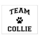 Team Collie Small Poster