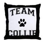 Team Collie Throw Pillow