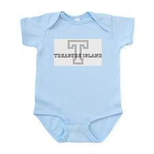Treasure Island (Big Letter) Infant Creeper
