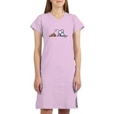 Samoyed Eskie Dig Women's Nightshirt