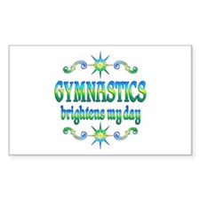 Gymnastics Brightens Decal