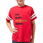 T Rex President Kids Baseball Jersey