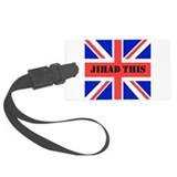 """Jihad This!"" Luggage Tag"