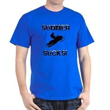 Summer Sucks Custom T-Shirt