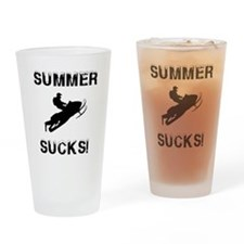 Unique Sucks Drinking Glass
