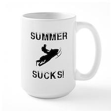 Summer Sucks Custom Mugs