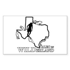 Alec in Wilderland Decal