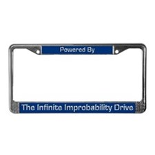 Infinite Improbability Drive License Plate Frame