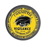 SF Vigilance Wall Clock