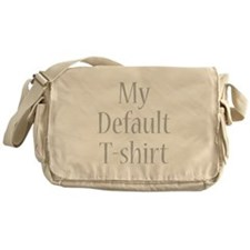 My Default T-shirt Messenger Bag