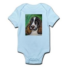 Springer Spaniel Smile Infant Bodysuit