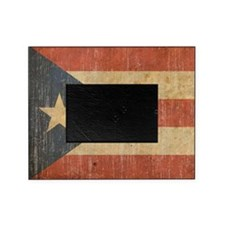 Vintage Puerto Rico Picture Frame