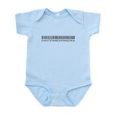 Bates, Baby Barcode, Infant Bodysuit