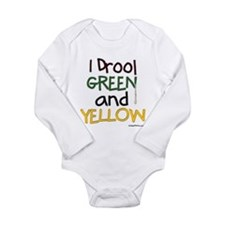 Cute Packers Long Sleeve Infant Bodysuit
