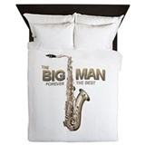 RIP Big Man Clarence Clemons Queen Duvet