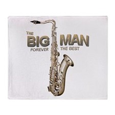 RIP Big Man Clarence Clemons Throw Blanket