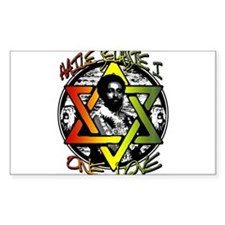 HAILE SELASSIE I - ONE LOVE! Decal
