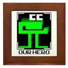 Cute Retro gaming Framed Tile