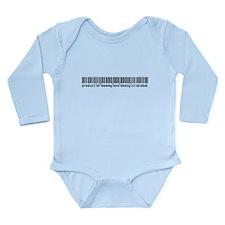 Cristobal, Baby Barcode, Long Sleeve Infant Bodysu