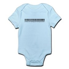 Esteban, Baby Barcode, Infant Bodysuit