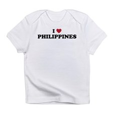 I Love Philippines Infant T-Shirt