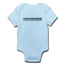 Getz, Baby Barcode, Infant Bodysuit