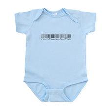 Hall, Baby Barcode, Infant Bodysuit