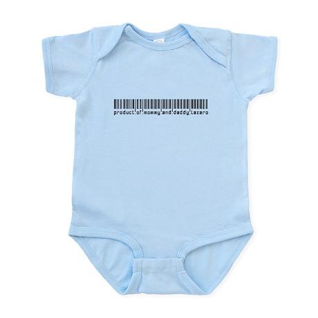 Lazaro, Baby Barcode, Infant Bodysuit