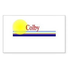 Colby Rectangle Decal
