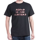 """Rehab"" Black T-Shirt"