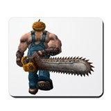 Cute Chain saw Mousepad