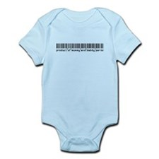 Parisi, Baby Barcode, Infant Bodysuit