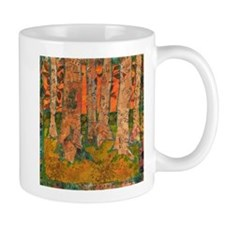Orange Tangerine Trees Mug