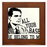 ALAN TURING - All Your Base Belong To Me Framed Ti