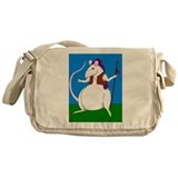 King Frederick the Giant Rat Messenger Bag