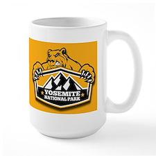 Yosemite Gold Bear Mug