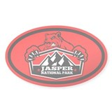 Jasper Red Bear Decal