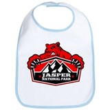 Jasper Red Bear Bib