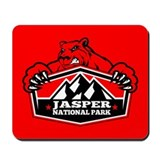 Jasper Red Bear Mousepad