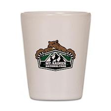 Mt. Rainier Brown Bear Shot Glass