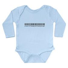 Songer, Baby Barcode, Long Sleeve Infant Bodysuit