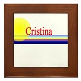 Cristina Framed Tile