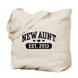 New Aunt Est. 2013 Tote Bag