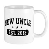 New Uncle Est. 2013 Small Mug
