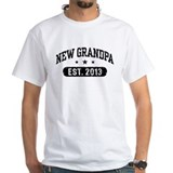 New Grandpa Est. 2013 Shirt